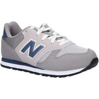 Sapatos Criança Multi-desportos New Balance YC373KG Gris