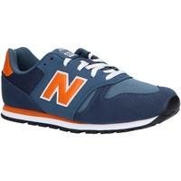 Sapatos Criança Multi-desportos New Balance YC373KN Azul