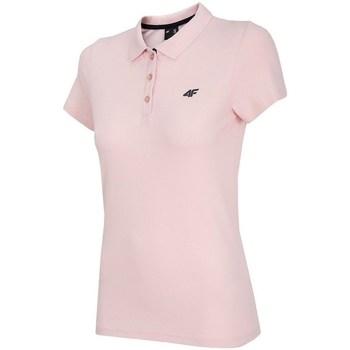 Textil Mulher Polos mangas curta 4F TSD007 Cor-de-rosa