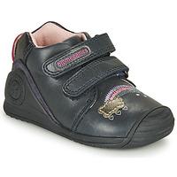 Sapatos Rapariga Sapatilhas Biomecanics BOTIN TWIN Marinho