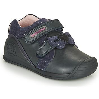 Sapatos Rapariga Sapatilhas Biomecanics BOTIN LAZO Marinho