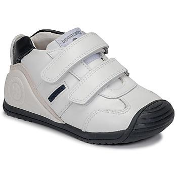 Sapatos Rapaz Sapatilhas Biomecanics BIOGATEO SPORT Branco