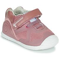 Sapatos Rapariga Sapatilhas Biomecanics ZAPATO ELASTICO Rosa