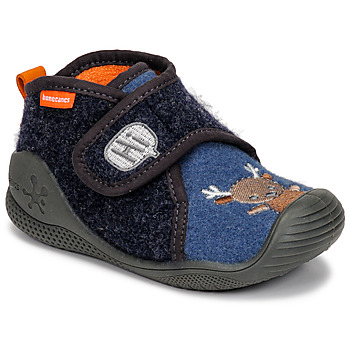 Sapatos Criança Chinelos Biomecanics ZAPATILLA TWIN Cinza / Azul