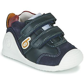 Sapatos Rapaz Sapatilhas Biomecanics ZAPATO SPORT VELCRO Marinho