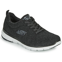 Sapatos Mulher Fitness / Training  Skechers FLEX APPEAL 3.0 PLUSH JOY Preto