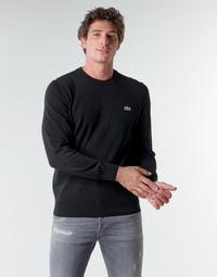 Textil Homem camisolas Lacoste AH1985 Preto