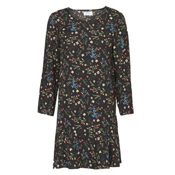 Textil Mulher Vestidos curtos Betty London NELLY Preto / Multicolor