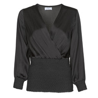 Textil Mulher Tops / Blusas Betty London NAUSSE Preto