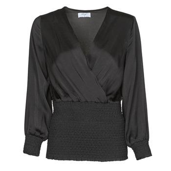 Textil Mulher Tops / Blusas Betty London NAUSSE Preto