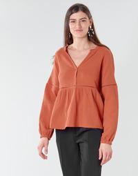 Textil Mulher Tops / Blusas Betty London NASSE Ferrugem