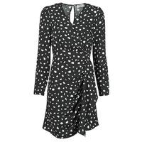 Textil Mulher Vestidos curtos Betty London NOELINE Preto / Branco