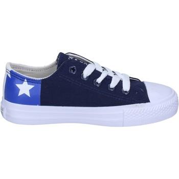 Sapatos Rapaz Sapatilhas Beverly Hills Polo Club Sneakers BM763 Azul