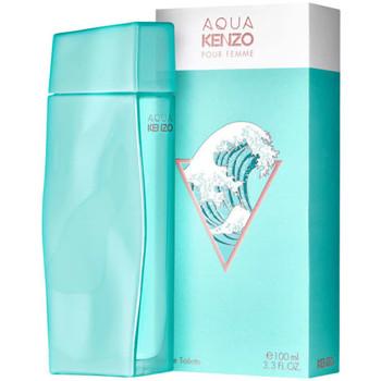 beleza Mulher Eau de parfum  Kenzo Aqua pour Femme - colônia - 100ml - vaporizador Aqua pour Femme - cologne - 100ml - spray