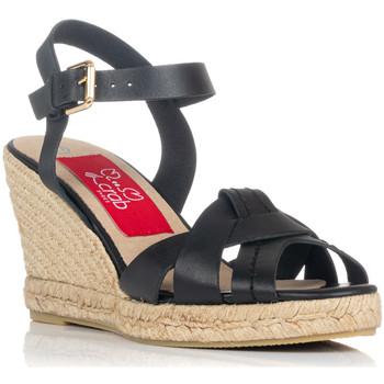 Sapatos Mulher Sandálias Crab 82006 Preto