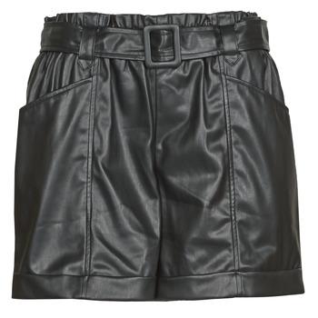 Textil Mulher Shorts / Bermudas Liu Jo WF0104-E0392 Preto