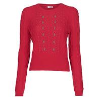 Textil Mulher camisolas Liu Jo MF0156-MA88J Vermelho