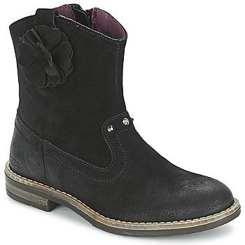 Sapatos Rapariga Botas baixas Mod'8 NOLA Preto