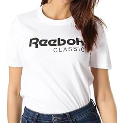 Textil Mulher T-Shirt mangas curtas Reebok Sport  Branco