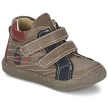 Sapatos Rapaz Sapatilhas de cano-alto Citrouille et Compagnie THEO Toupeira