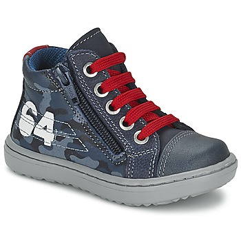 Sapatos Rapaz Sapatilhas de cano-alto Citrouille et Compagnie MINAI Azul