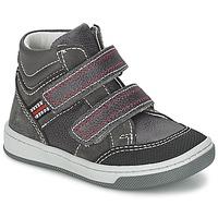 Sapatos Rapaz Sapatilhas de cano-alto Citrouille et Compagnie MONI Cinza
