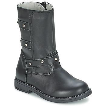 Sapatos Rapariga Botas Citrouille et Compagnie ELZA Preto