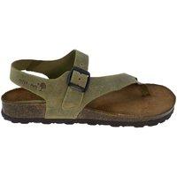 Sapatos Mulher Sandálias Interbios Sandalias  7162 kaki Verde