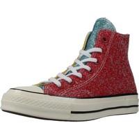 Sapatos Mulher Sapatilhas de cano-alto Converse CHUCK 70 HI Vermelho