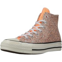 Sapatos Mulher Sapatilhas de cano-alto Converse CHUCK 70 HI Laranja