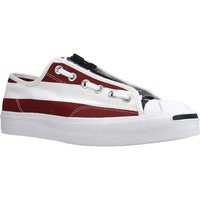 Sapatos Homem Sapatilhas Converse JACK PURCELL ZIP OX Branco