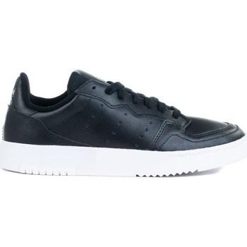 Sapatos Criança Sapatilhas adidas Originals Supercourt J Branco, Preto