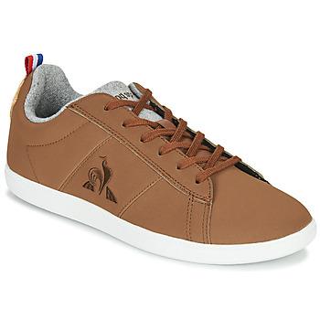 Sapatos Sapatilhas Le Coq Sportif COURTCLASSIC GS Castanho