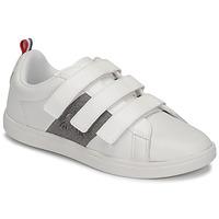 Sapatos Criança Sapatilhas Le Coq Sportif COURTCLASSIC PS Branco
