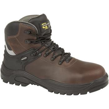 Sapatos Homem Botas Grafters  Marrom Escuro