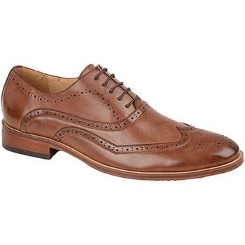 Sapatos Homem Richelieu Goor  Meio Marrom