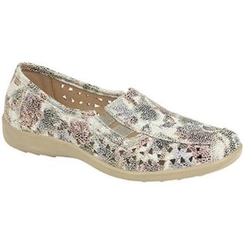 Sapatos Mulher Mocassins Boulevard  Multifloral