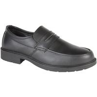 Sapatos Homem Mocassins Grafters  Preto