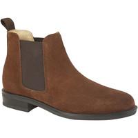 Sapatos Homem Botas baixas Roamers  Camurça bronzeada