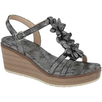 Sapatos Mulher Sandálias Cipriata  Estanho escuro