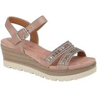 Sapatos Mulher Sandálias Cipriata  Ouro rosa