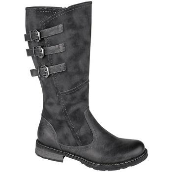 Sapatos Mulher Botas Cipriata  Preto