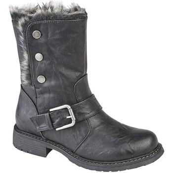 Sapatos Mulher Botas de neve Cipriata  Preto