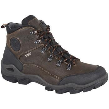 Sapatos Homem Sapato de segurança Imac  Marrom Escuro