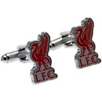 Relógios & jóias Homem Botões de punho Liverpool Fc  Prata/Vermelho
