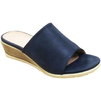 Sapatos Mulher Chinelos Cipriata  Marinha