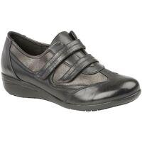 Sapatos Mulher Sapatilhas Boulevard  Preto/Prateado