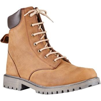 Sapatos Homem Sapato de segurança Dublin  Brown