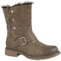 Sapatos Mulher Botas de neve Cipriata  Brown