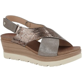 Sapatos Mulher Sandálias Cipriata  Estanho/Bronze